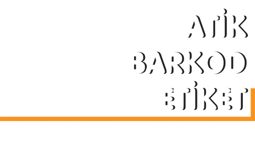 Atik Barkod Etiket